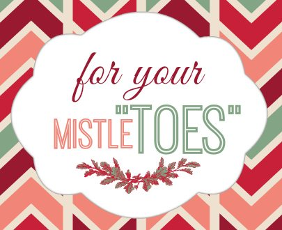 Terrible image with for your mistletoes printable