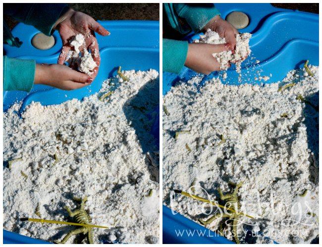 DIY Moon Sand Texture