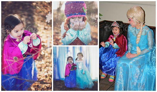 FROZEN Birthday Girl Collage