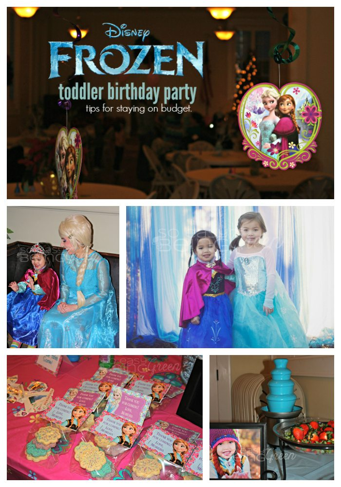 FROZEN Birthday Party Pin