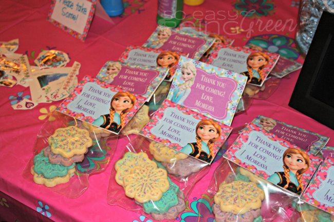 Budget Friendly Frozen Birthday Party