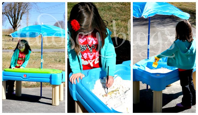 Water Table Collage
