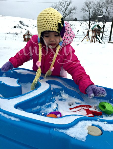 Water Table in Snow