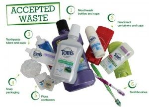Tom's of Maine Accepted Waste Small
