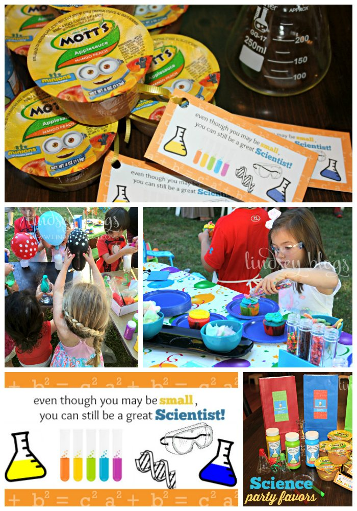 Science Party Collage