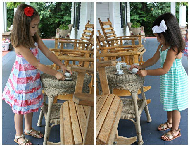 Tea Party HelloSummerFun Collage