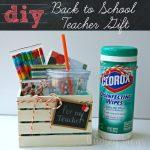 DIY Back to School Teacher Gift Basket