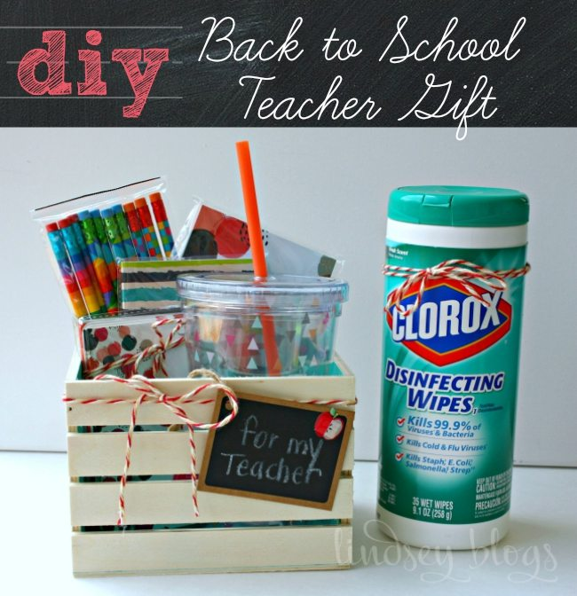 DIY Back to School Teacher Gift Basket
