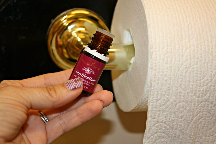 Purification EO on Toilet Paper