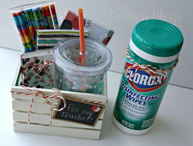 Teacher Gift Ideas for Back to School and School Supplies