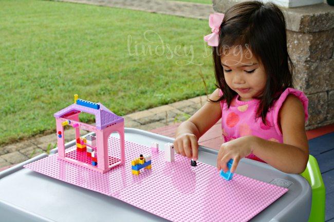 Girl Lego Table