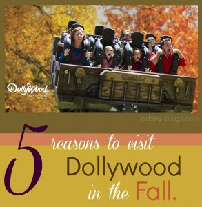 5 Reasons to Visit Dollywood in the Fall