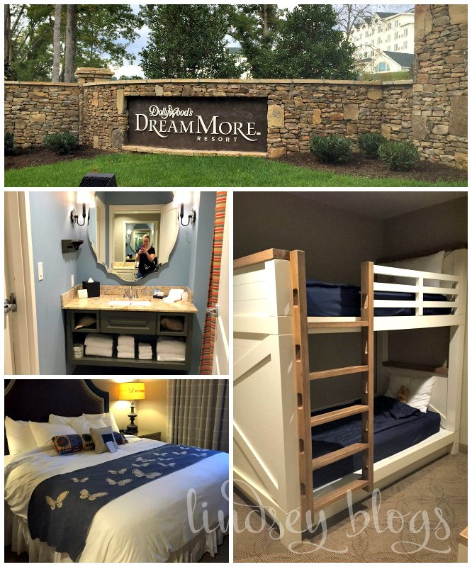 DreamMore Resort Room Collage