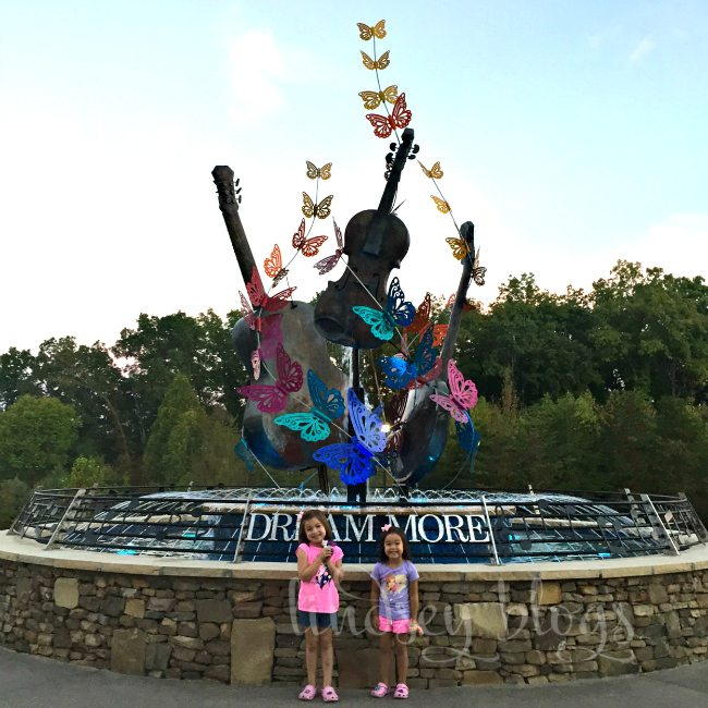 DreamMore Resort fountain