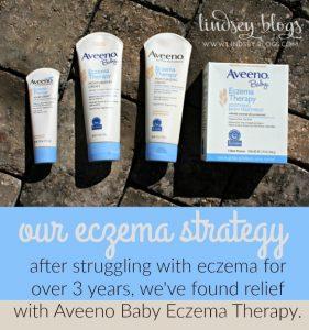 Our Eczema Strategy with Aveeno Baby Eczema Therapy