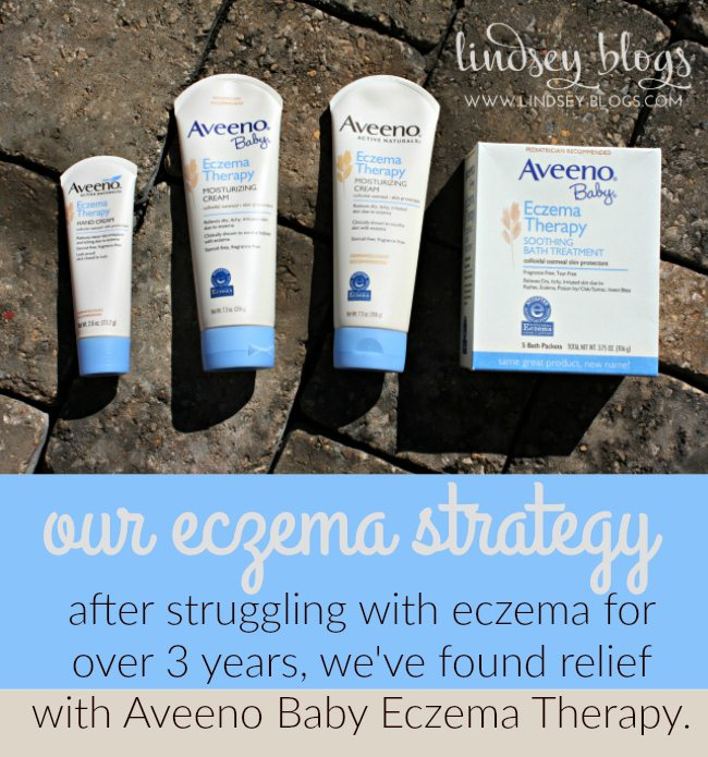 Our Eczema Strategy with Aveeno Baby Eczema Therapy