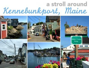 A Stroll Around Kennebunkport, Maine [and My Visit to the Tom's of Maine Headquarters]