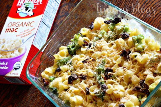 Organic Mac Broccoli Bake