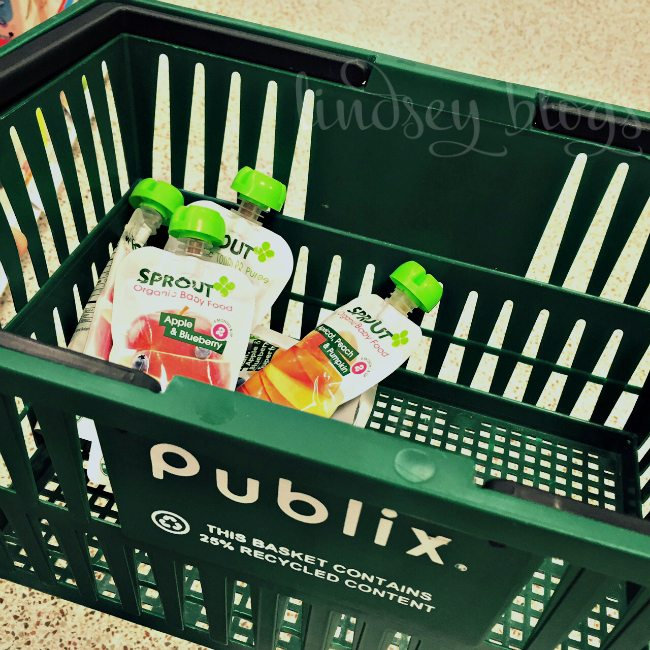 Sprout Organic Baby Food at Publix