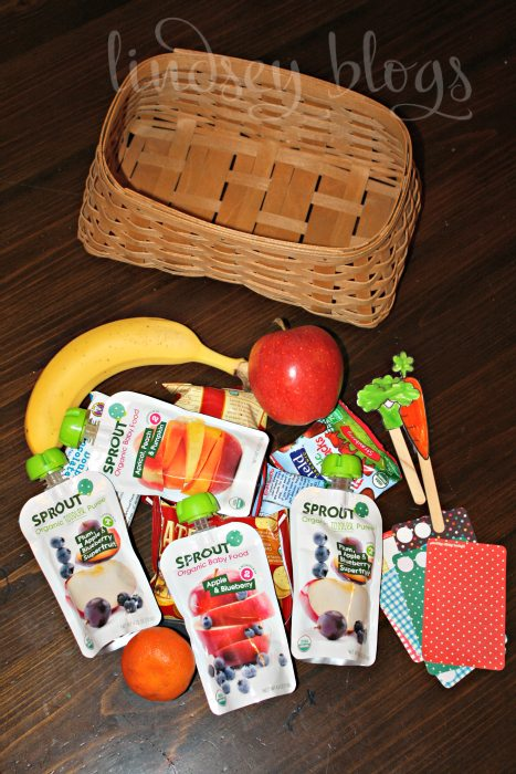 Toddler Snack Basket Contents