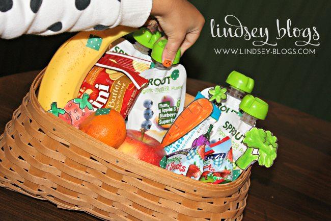 Toddler Snack Basket