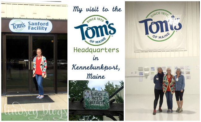 Visit to Toms of Maine