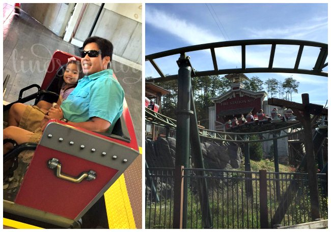 Dollywood FireChaser Express Collage