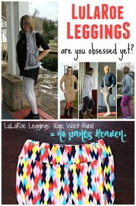 Obsessed with LuLaRoe Leggings