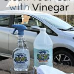 CleanYour Car with Vinegar