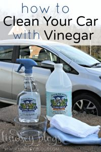 Clean Your Car with Vinegar