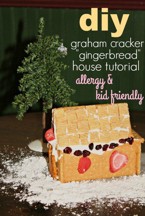 DIY Graham Cracker House
