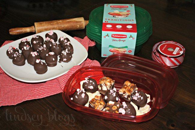 Gifting Peppermint Mocha Truffles