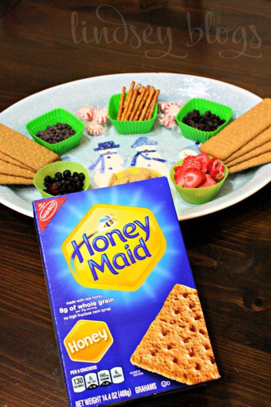Honey Graham Cracker Gingerbread House
