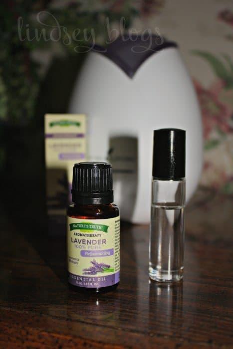 Lavender Oil Roller Bottle