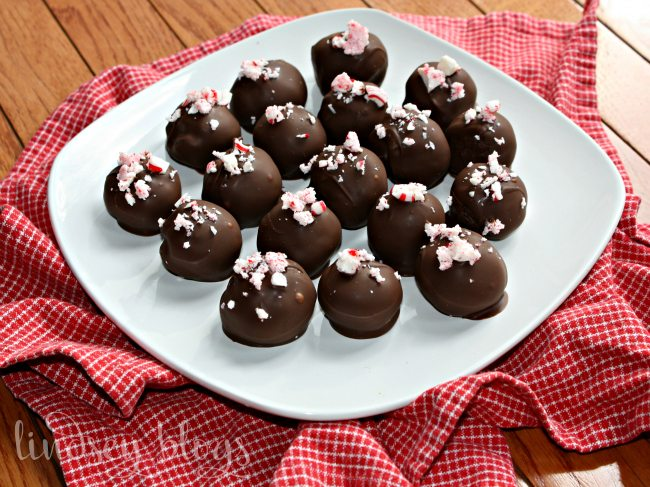 Peppermint Mocha Truffles [+ Free Printable for Teacher Gift Idea]
