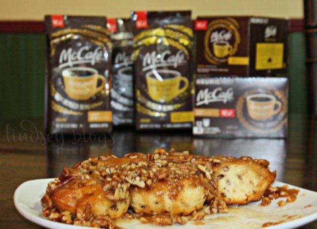 Sticky Bun Cinnamon Rolls McCafe