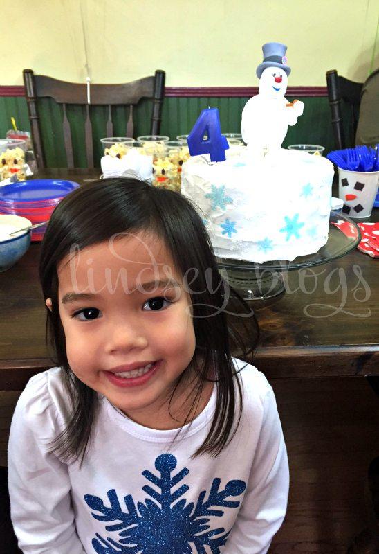 Frosty the Snowman Birthday Girl