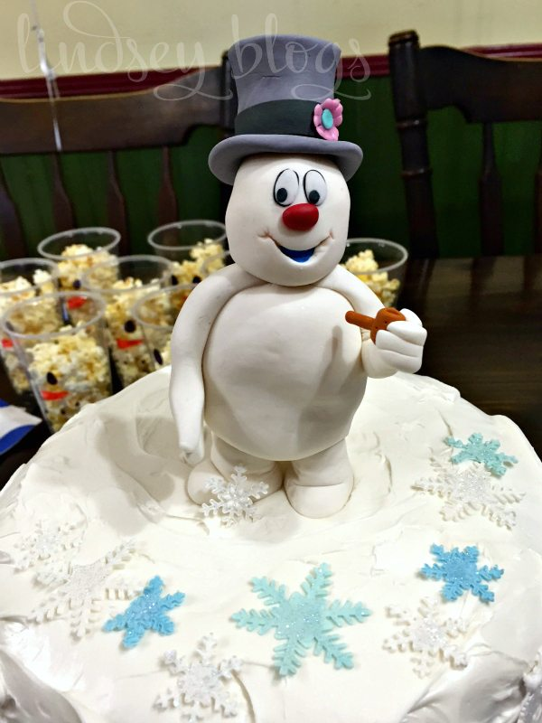 Frosty the Snowman Cake Topper
