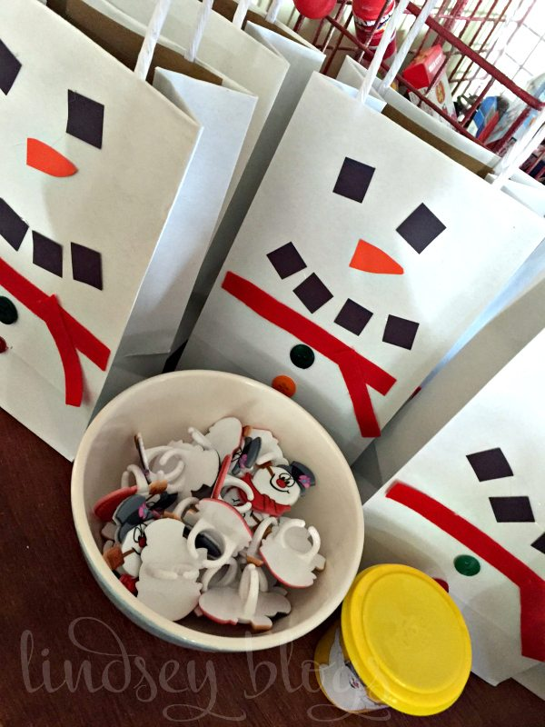 Frosty the Snowman Party Bags
