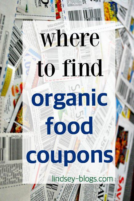 Organic Food Coupons