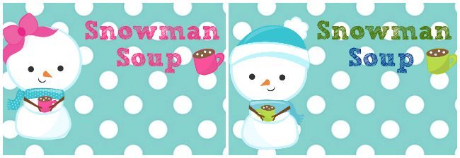 photo regarding Snowman Soup Printable Tag referred to as Frosty the Snowman Birthday Bash [+ Cost-free Printables!]