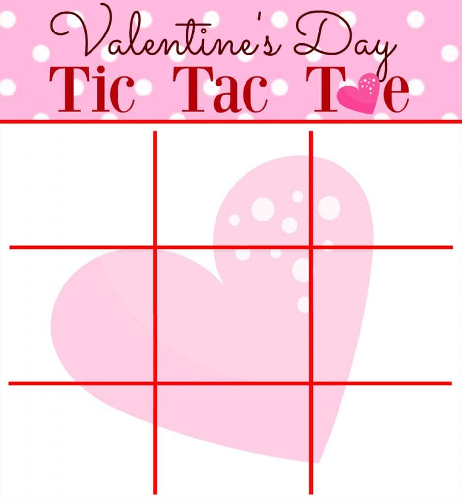 Priceless image intended for tic tac toe valentine printable