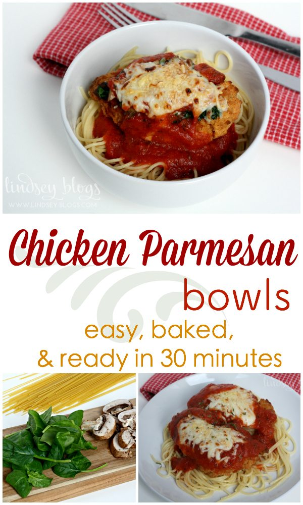Chicken Parmesan Bowls Pin