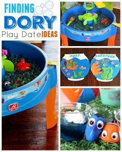 Finding Dory Play Date Ideas [Great for Birthday Parties too!]