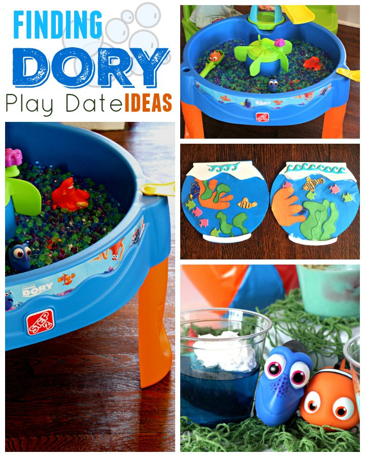 Finding Dory Play Date Ideas