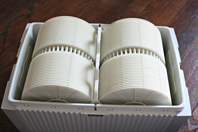Inside Venta Airwasher