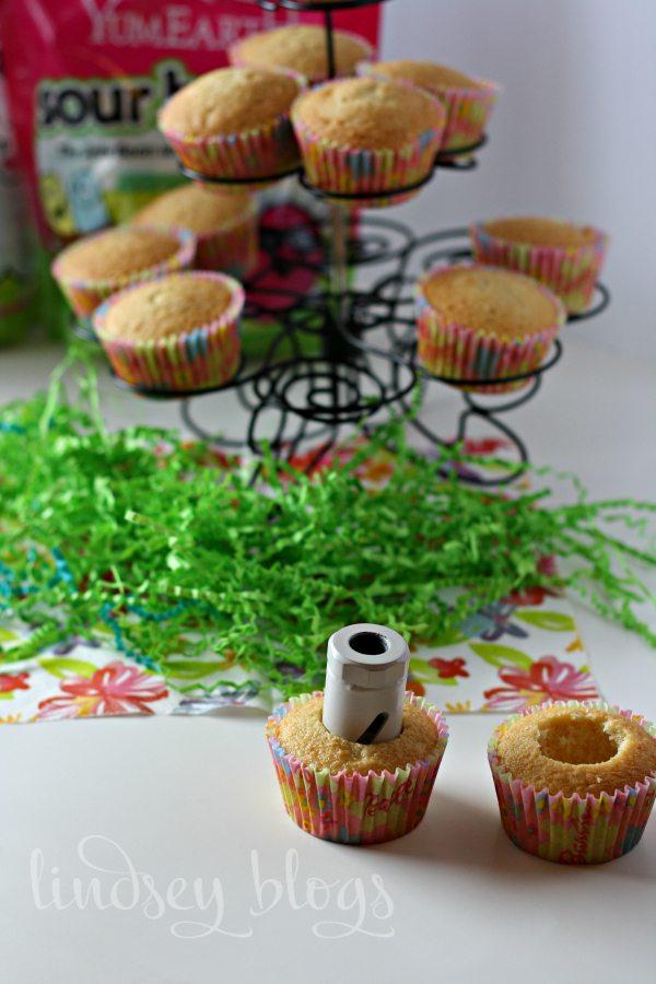 Making Surprise Cupcakes