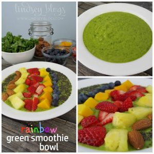 ... green smoothie bowl is a whole new way to enjoy a green smoothie