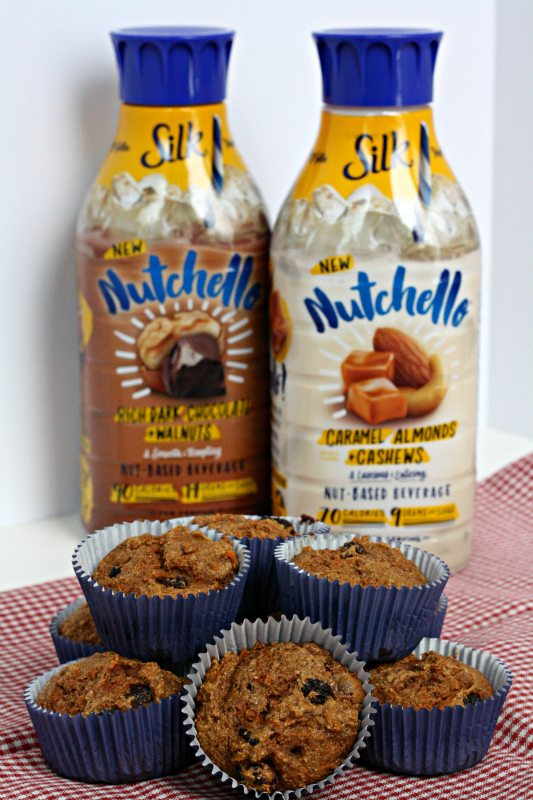 Silk Nutchello Paired with Carrot Muffins