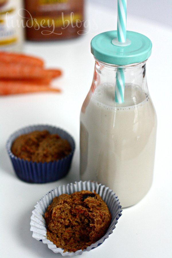 Silk Nutchello Whole Wheat Carrot Muffins